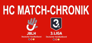 HC Match Chronik BHV