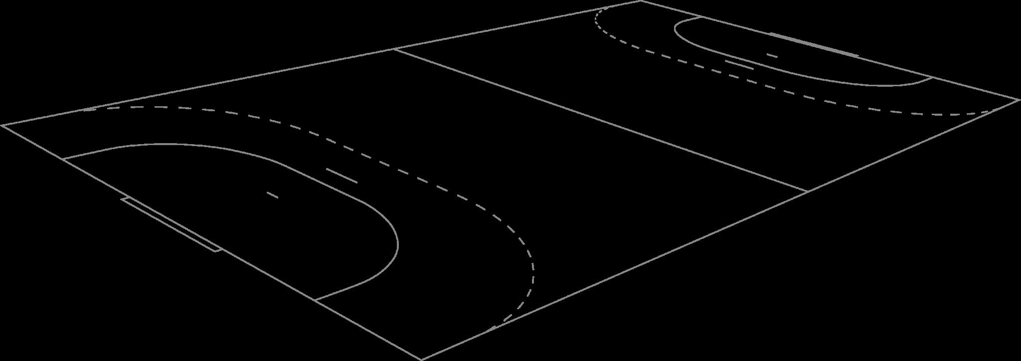 Handballfeld als Grafik